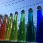 完成♬  カラーリーディングボトル